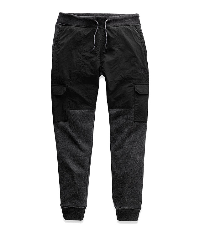 MEN'S ALPHABET CITY FLEECE CARGO PANTS