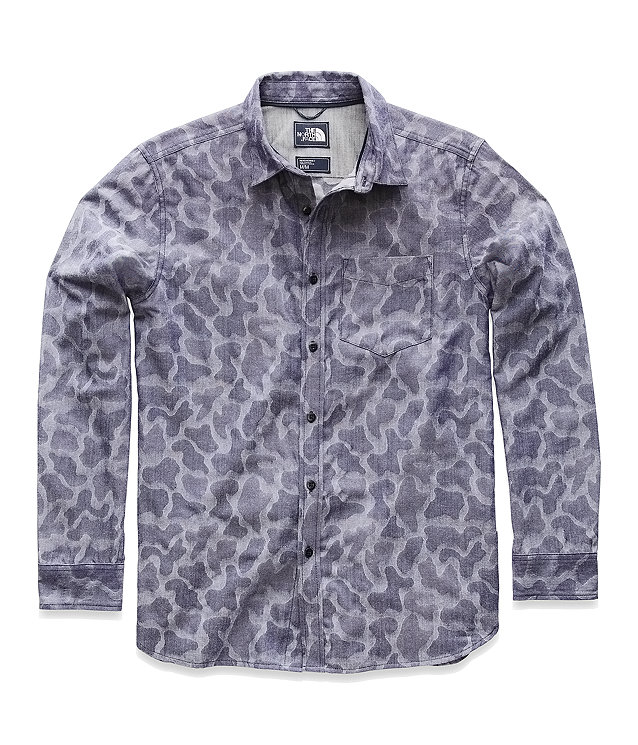 MEN'S LONG-SLEEVE SUB-ALPINE JACQUARD SHIRT