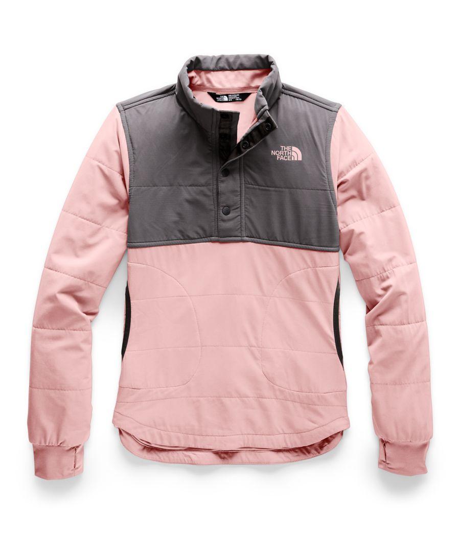 Girls' Mountain Sweatshirt ¼ Snap-