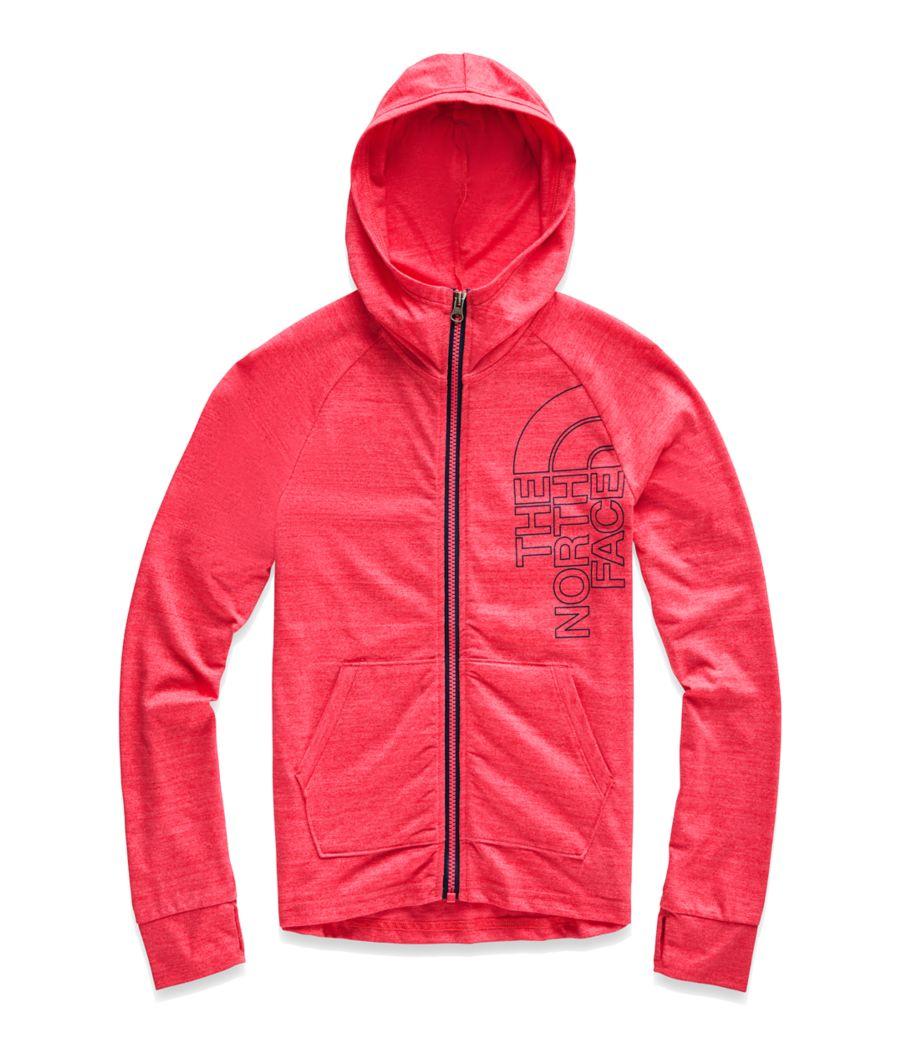 Manteau Tri-Blend à glissière pour filles-