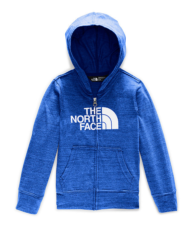 Toddler Tri-Blend Full Zip Hoodie