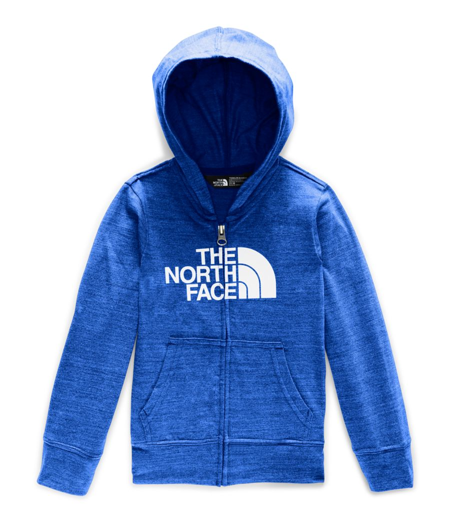 Toddler Tri-Blend Full Zip Hoodie-