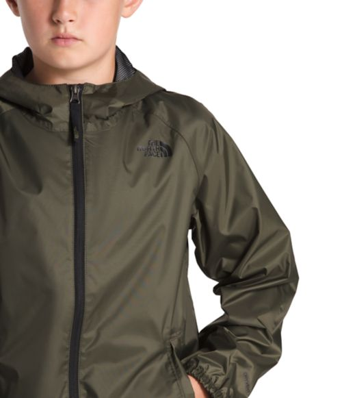 Boys' Zipline Rain Jacket-