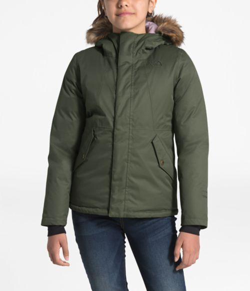 Girls' Greenland Down Parka-