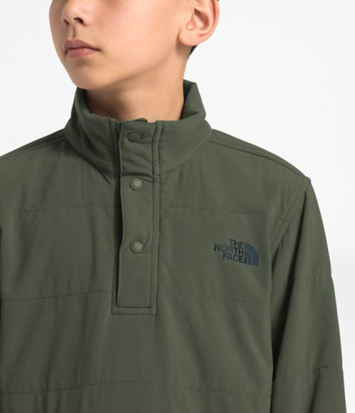 Boys' Mountain Sweatshirt ¼ Snap Neck-