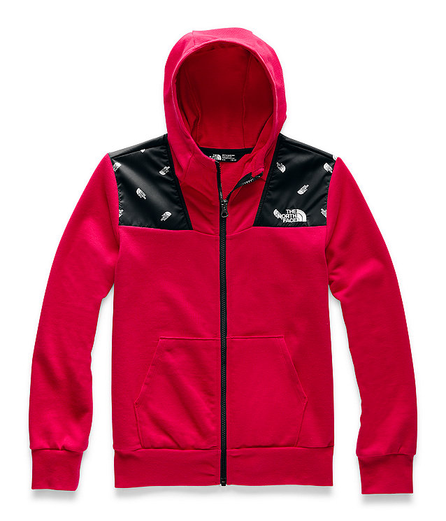 Boys' Terry Peak Full-Zip Hoodie
