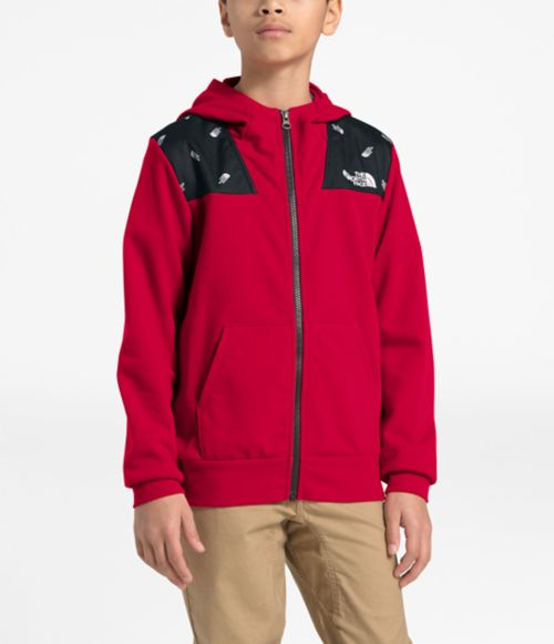 Boys' Terry Peak Full-Zip Hoodie-
