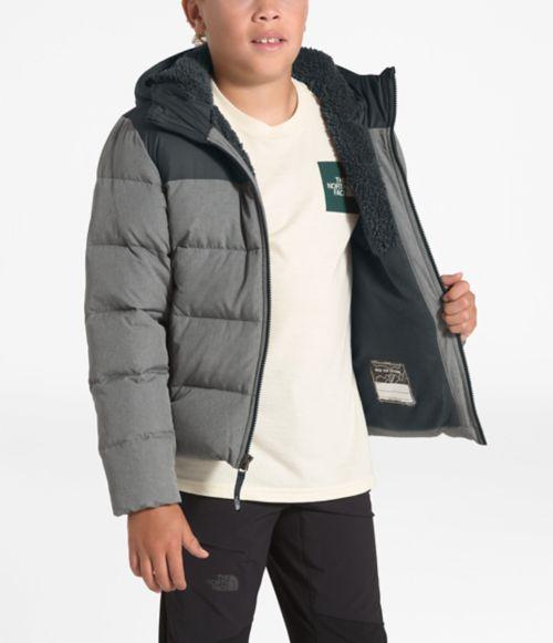 Manteau à capuchon Moondoggy 2.0 en duvet pour garçons-