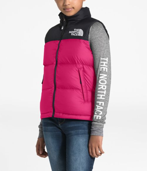 Youth 1996 Retro Nuptse Down Vest-