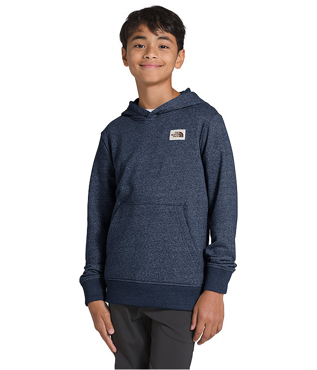 Boys' Recycled Materials Pullover Hoodie