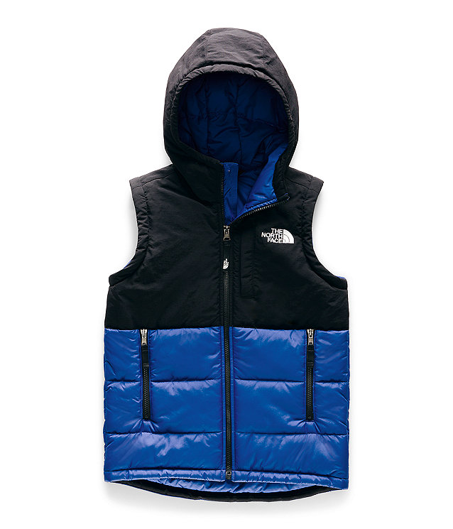 Youth North Peak Insulated Hooded Vest