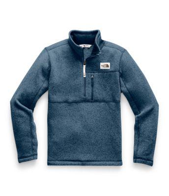 Boys' Gordon Lyons ¼ Zip Fleece by The North Face