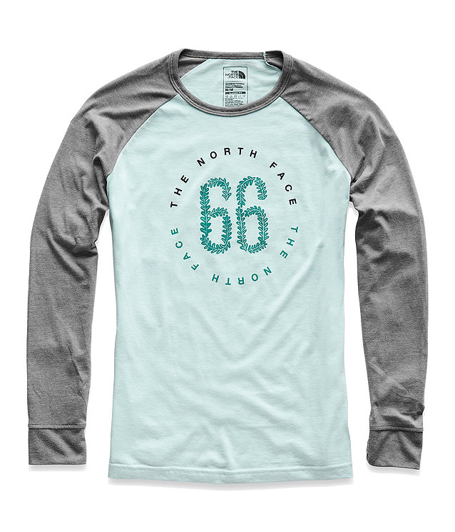 WOMEN'S LONG-SLEEVE MALIBAE TRI-BLEND TEE