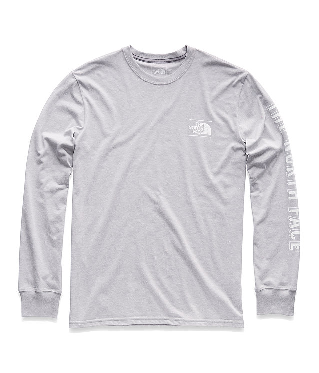 MEN'S LONG-SLEEVE CLIMB ON GRAPHIC TEE