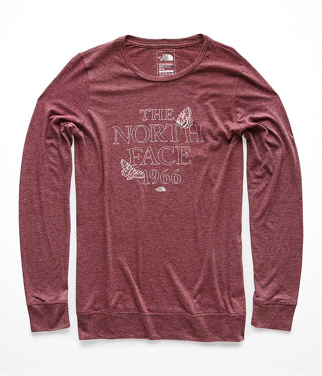 WOMEN'S WARM AUTUMN TRI-BLEND CREW TEE