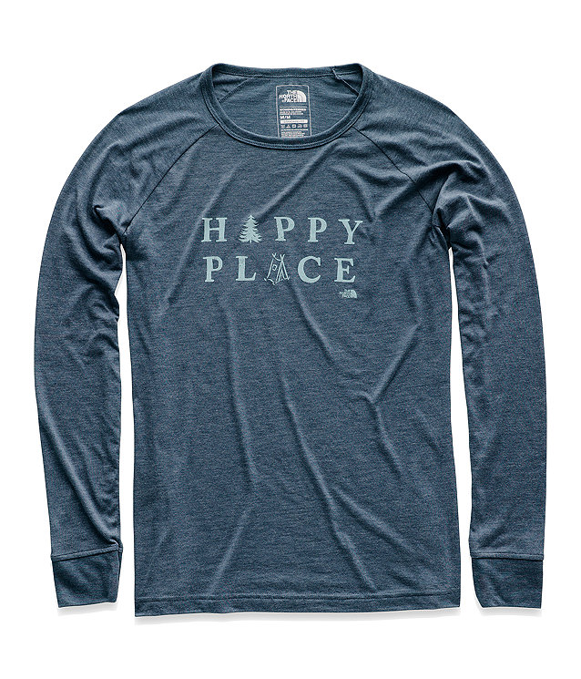 WOMEN'S LONG-SLEEVE TAKE TO NATURE TRI-BLEND TEE