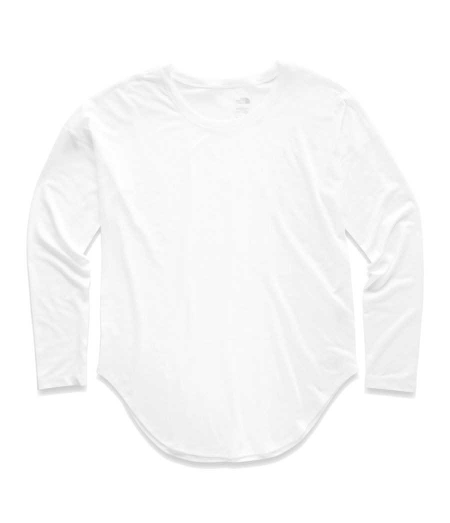 WOMEN'S WORKOUT LONG SLEEVE TEE-