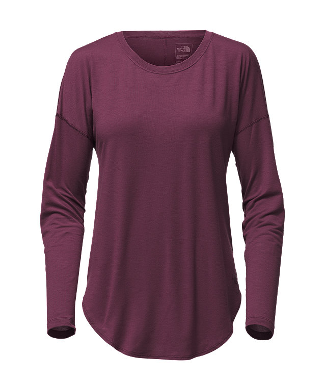 WOMEN'S WORKOUT LONG SLEEVE TEE