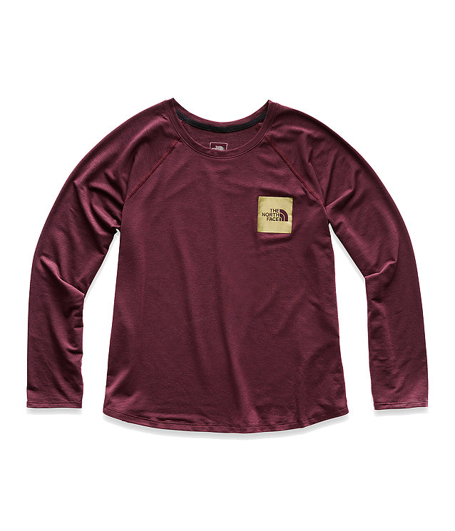 WOMEN'S TRAIN N LOGO LONG-SLEEVE