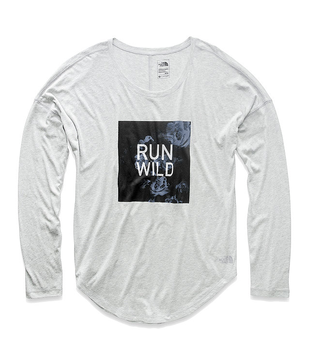 WOMEN'S TNF™ GRAPHIC LONG-SLEEVE TOP