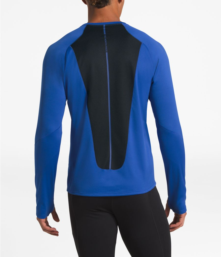 Men's Winter Warm Gridded Long-Sleeve-