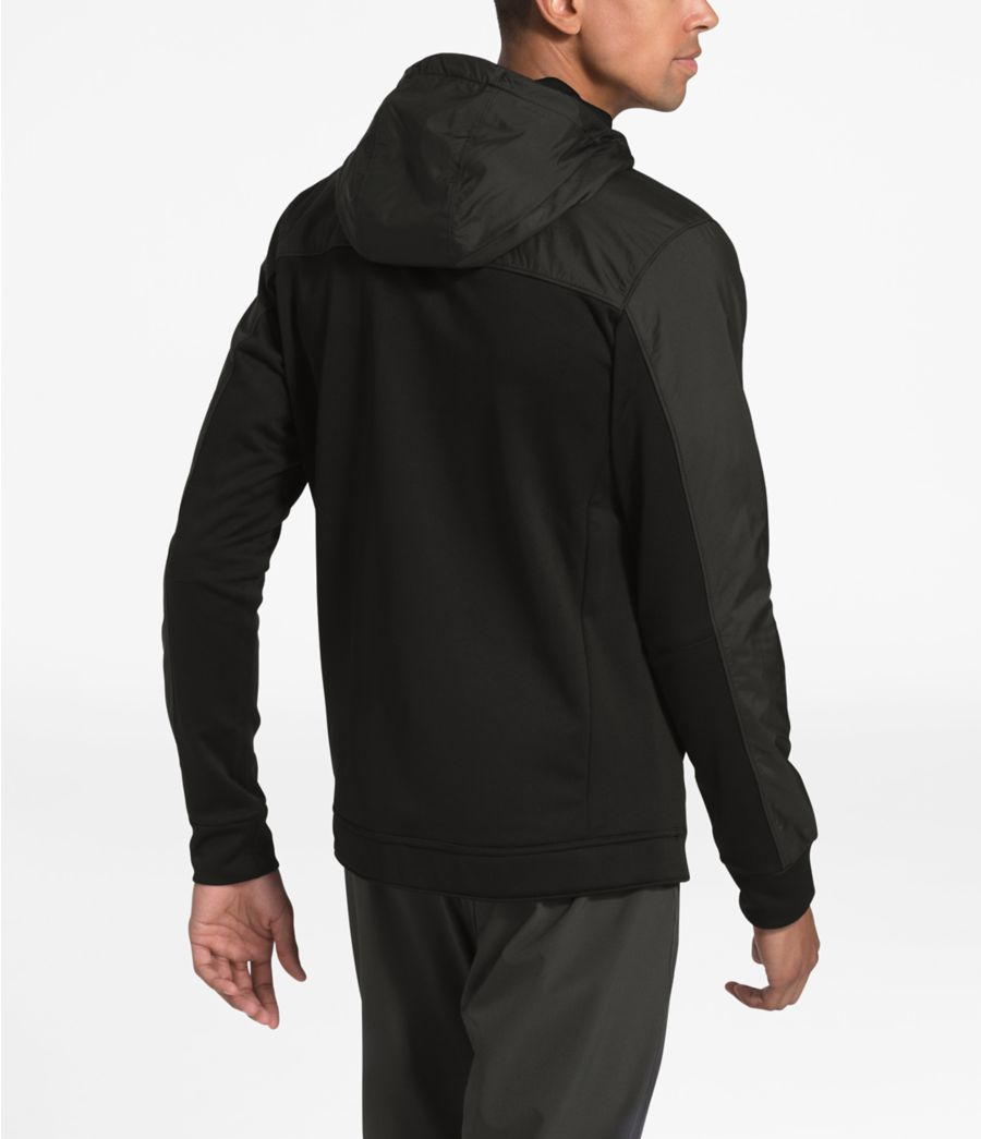 Men's Essential Fleece Full-Zip Hoodie-