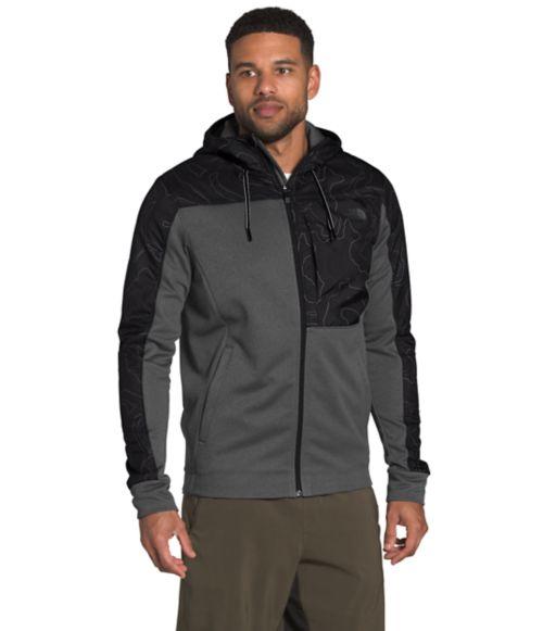 Manteau à capuchon Essential en molleton pour hommes-
