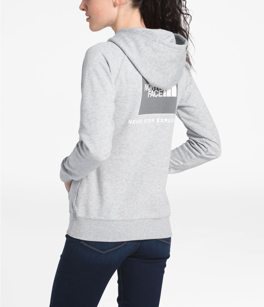WOMEN'S RED BOX PULLOVER HOODIE-