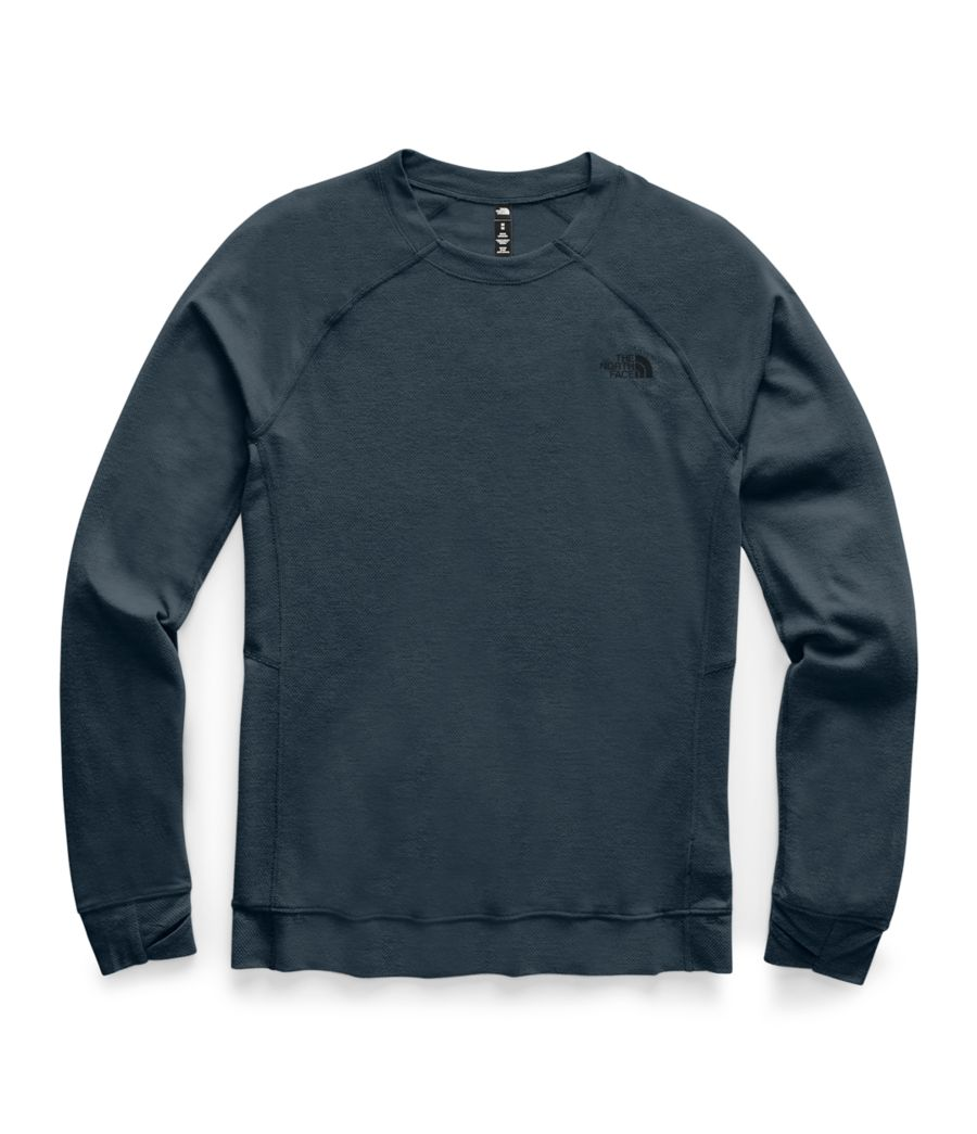 Men's Warm Wool Blend Crew-