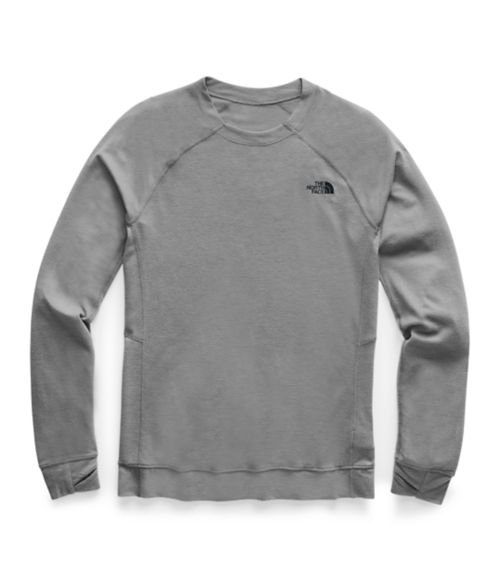 Men's Warm Wool Blend Crew-