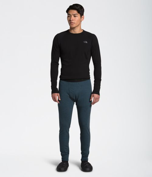 Men's Warm Wool Blend Boot Tights-