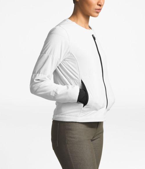 Women's Mountain Sweatshirt Collarless Full Zip-