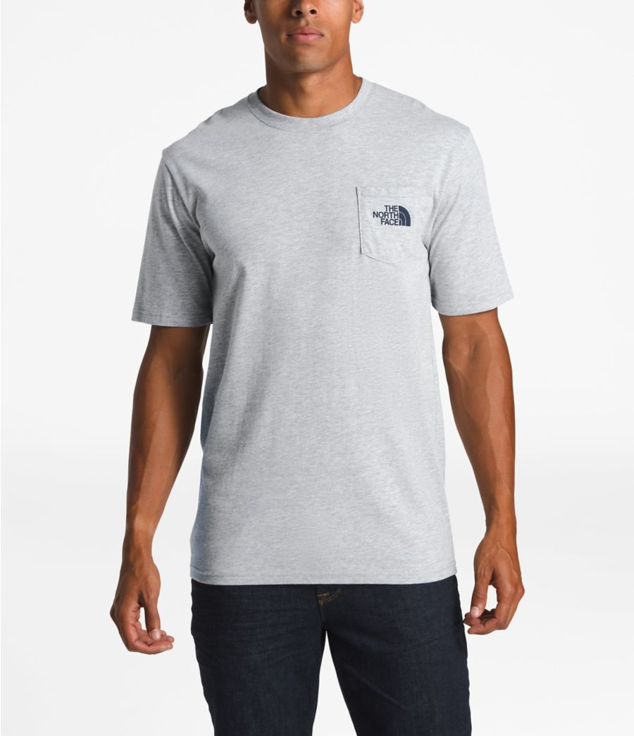 Men's Short-Sleeve Camping Notes Pocket Tee-