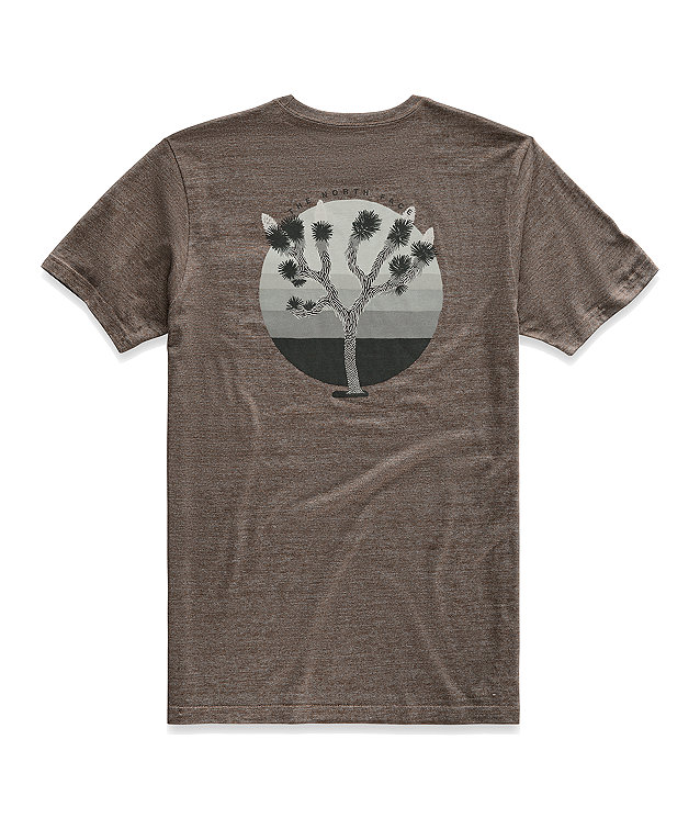 Men's Short-Sleeve Gradient Desert Tri-Blend Pocket Tee