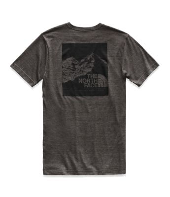 Men's Short Sleeve Vintage Pyrenees Tri Blend Tee by The North Face