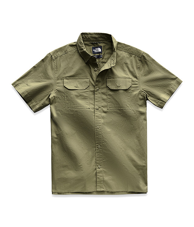 Men's Short-Sleeve Battlement Shirt
