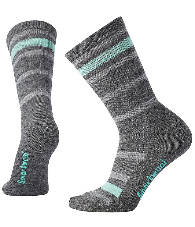 Women's Smartwool Striped Hike Light Crew