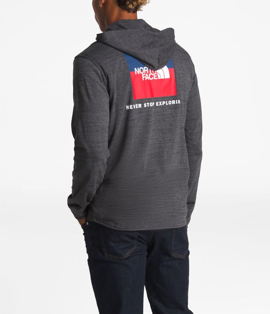 Men's Americana Tri-Blend Full Zip Hoodie-