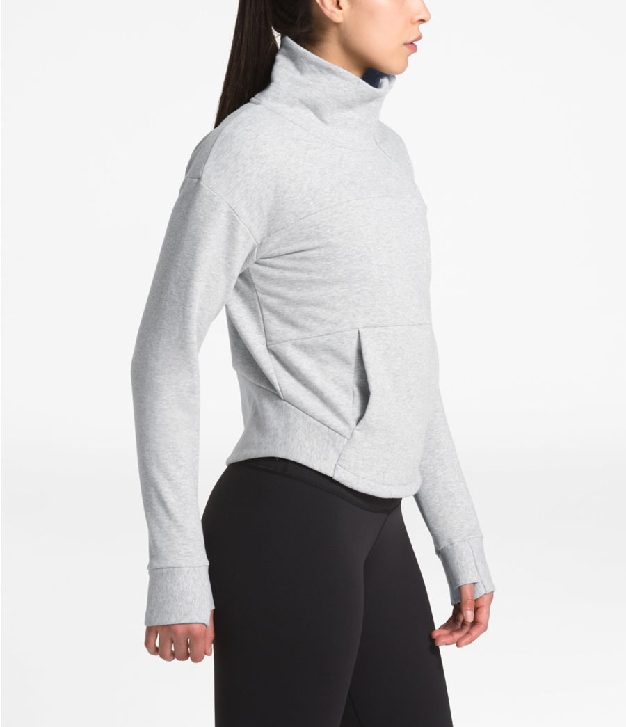 Women's Motivation Fleece Mock Neck Pullover-