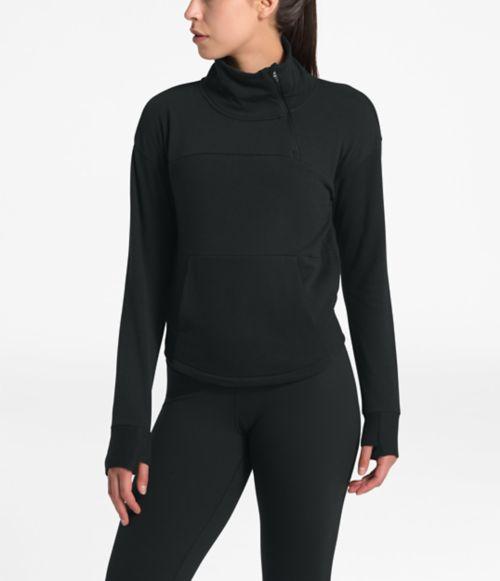 Women's Motivation Fleece Mock Neck Pullover-