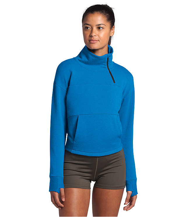 Women's Motivation Fleece Mock Neck Pullover