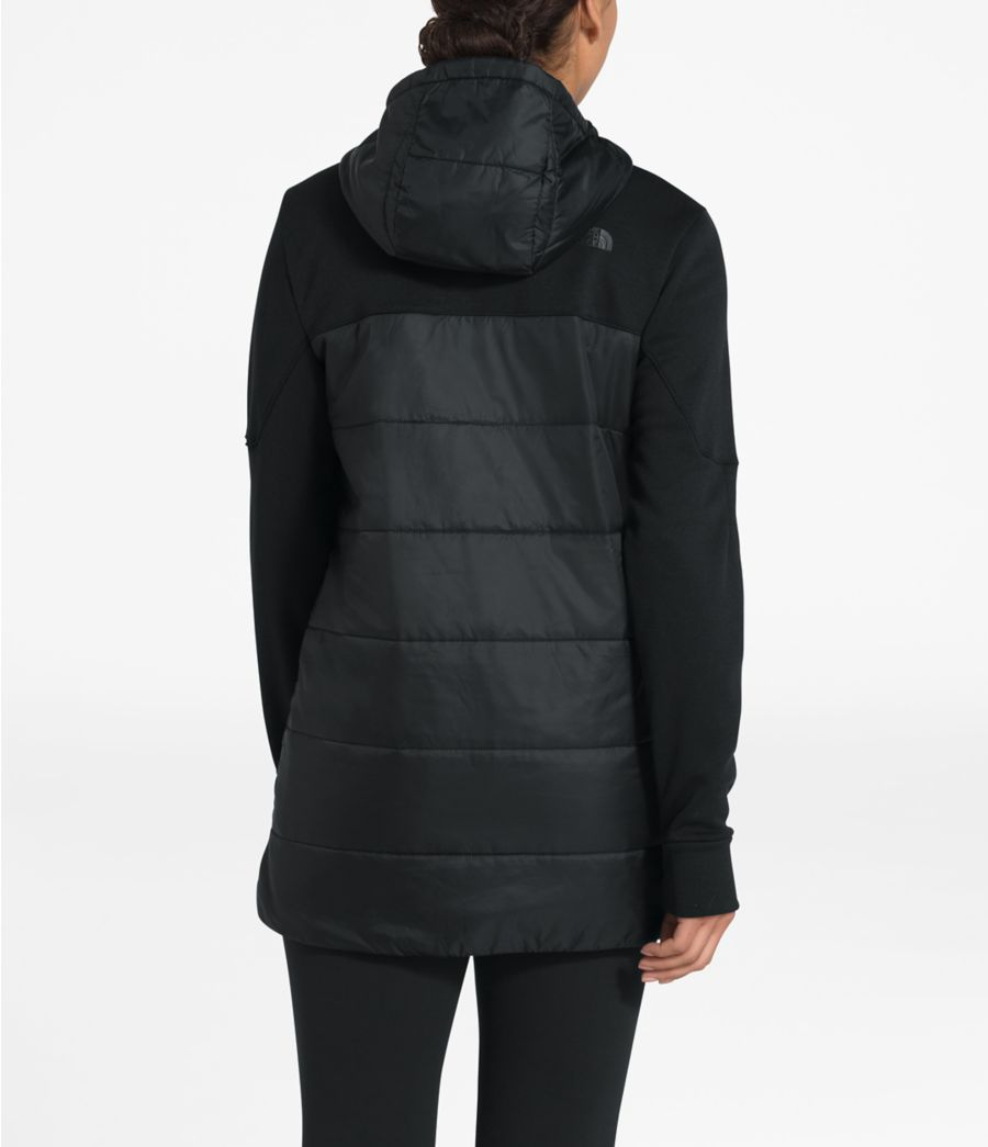 Women's Motivation Hybrid Long Jacket-