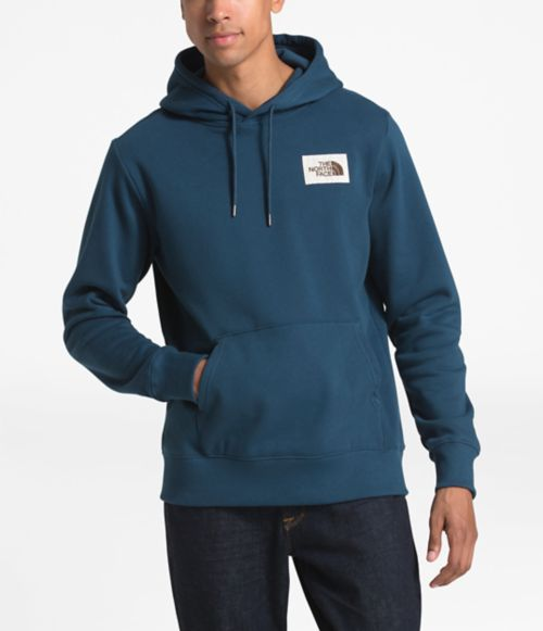 Men's Patch Pullover Hoodie-