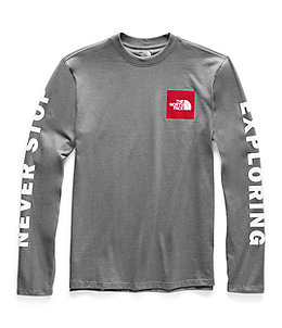 ba308614e Men's Long-Sleeve Collegiate Tee