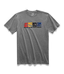7893e150f Men's Short-Sleeve Free Solo Half Dome Tee