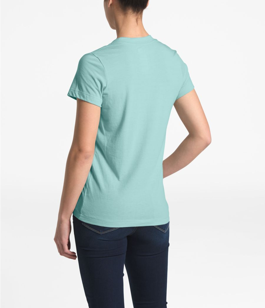 Women's Short-Sleeve Half Dome Tri-Blend V-Neck Tee-