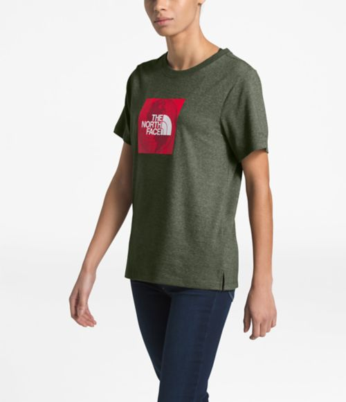 Women's Short-Sleeve Recycled Materials Graphic Tee-