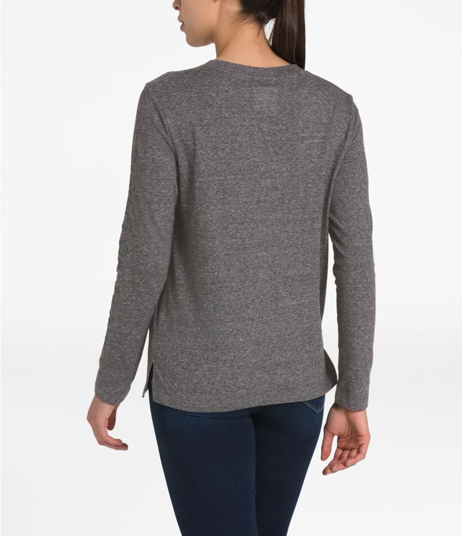 Women's Long-Sleeve Recycled Materials Tee-