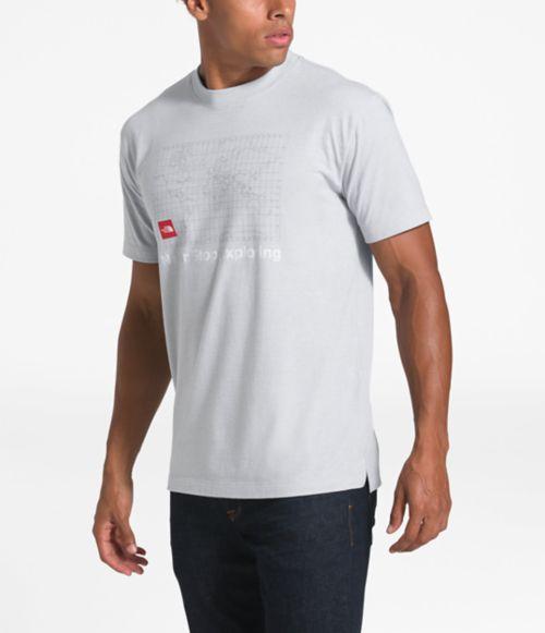 T-shirt en matières recyclées pour hommes-