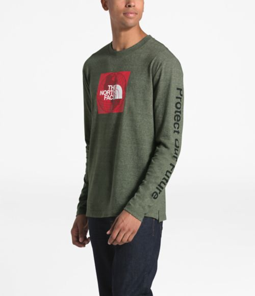 Men's Long-Sleeve Recycled Materials Tee-